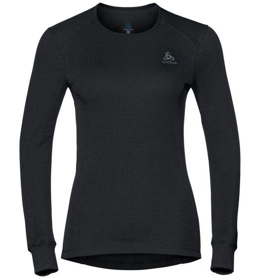 Odlo Underwear Orignals Warm, thermoshirt dames, zwart