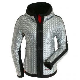 Almgwand, Aslerkopf OP, ski-jas, dames, silver grijs/zwart
