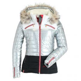 Almgwand, Salzeck KP, ski-jas, dames, silver grijs/zwart