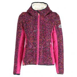Almgwand, Steinerfelsen-1, midlayer, dames, patterned  paars/roze