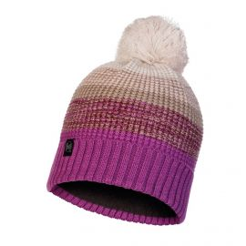 Buff, Alyona Knitted & Polar hat, muts, paars