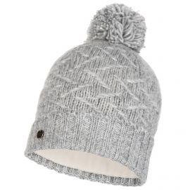 Buff, Ebba Knitted & Polar hat, muts, cloud grijs