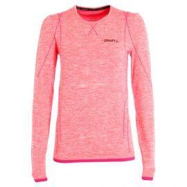 Craft Active comfort RN LS, thermoshirt, dames, crush roze