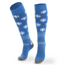 Deluni, Joyride Snowflakes, skisokken, blauw