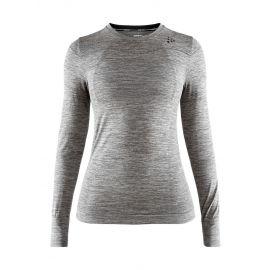 Craft, Fuseknit comfort RN LS thermoshirt dames dark melange Grijs