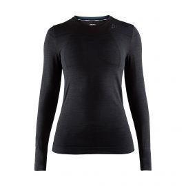 Craft, Fuseknit comfort RN LS thermoshirt dames Zwart