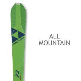 Fischer, RC One 73 Allride + RS11 Powerrail (2019/2020), ski's, groen