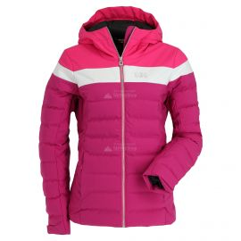 Helly Hansen, Imperial puffy, ski-jas, dames, festival fuchsia paars