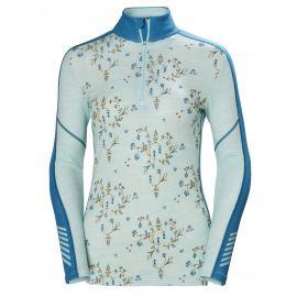 Helly Hansen, lifa merino, thermoshirt, dames, blauw