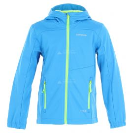 Icepeak, Laurens JR softshell ski-jas kinderen light Blauw