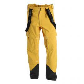 Kilpi, Lazzaro hardshell skibroek heren geel