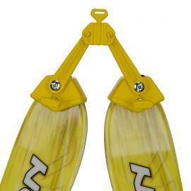 KnowHow, Ski easy lock, accessoires, kinderen, Geel