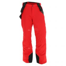 Maier Sports, Anton, ski broek, heren, plus size, rood