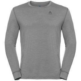 Odlo, Natural 100% Merino Warm Suw, thermoshirt, heren, grijs