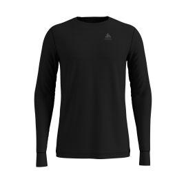 Odlo, Natural 100% Merino Warm Suw, thermoshirt, heren, zwart