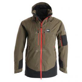 Picture, Track, ski-jas, heren, dark army groen