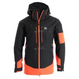 Picture, Track, ski-jas, heren, zwart/oranje