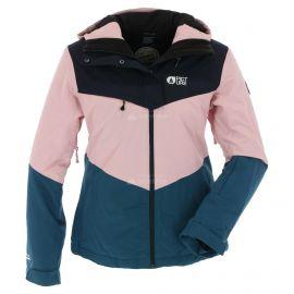Picture, Week end, ski-jas, dames, roze/blauw