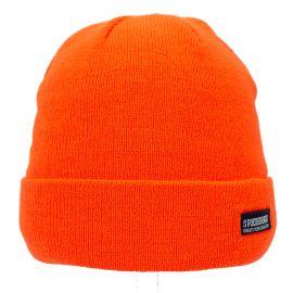 Poederbaas, Colorful basic, muts, fluor oranje
