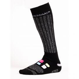 Poederbaas, Colorful Ski Socks 2 pair skisokken Multicolor