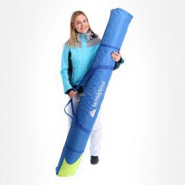 SL Bags, De Luxe met logo 185cm., skitas, blauw