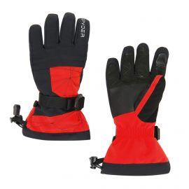 Spyder, Boys overweb, skihandschoenen, kinderen, volcano rood