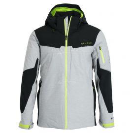 Spyder, Chambers GTX, ski-jas, lang model, heren, grijs/zwart