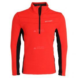 Spyder, Encore halfzip fleece, trui, heren, vulcano rood