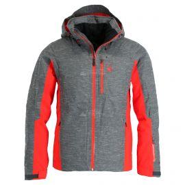 Spyder, Orbiter GTX, ski-jas, lang model, heren, rood/zwart