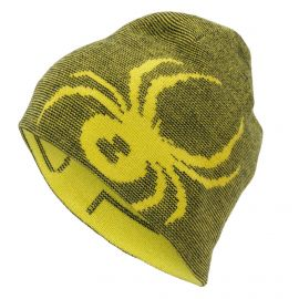 Spyder, Reversible inssbruck hat, muts, sun geel