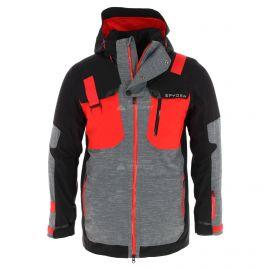 Spyder, Tordrillo GTX, ski-jas, lang model, heren, rood/zwart