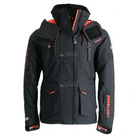 Superdry, Ultimate Snow Rescue, ski-jas, heren, onyx zwart