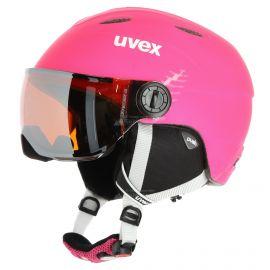 Uvex, Junior visor pro vizierhelm kinderen mat Roze