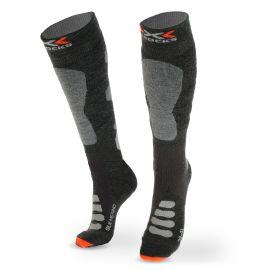 X-socks, SKI SILK MERINO 4.0, skisokken, grijs