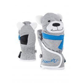 Ziener, Lafauna AS Minis, skiwanten, kinderen, lichtgrijs (zeehond), 1-6 jr