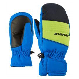 Ziener, Lober, skiwanten, kinderen, blauw/groen, 4-15 jr