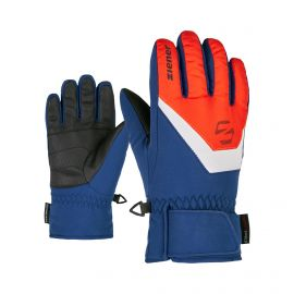 Ziener, Lorik Junior, skihandschoenen, kinderen, new red estate blauw