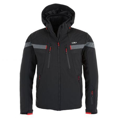 CMP, 30W0327 softshell ski-jas heren Zwart