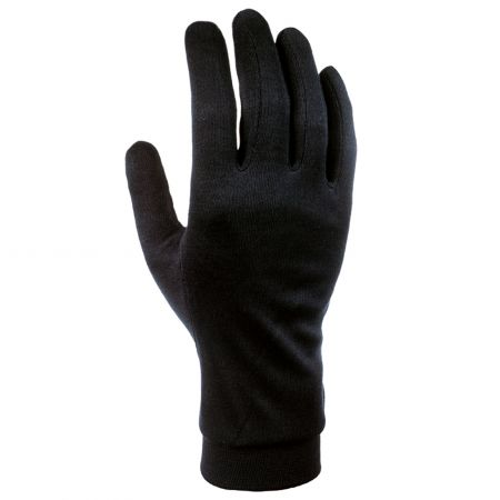 Cairn, Silk, onderhandschoenen, dames, zwart