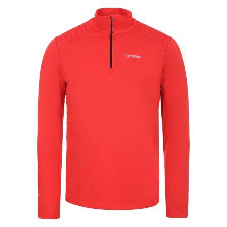 Icepeak, Fridley 1/2 zip, skipully, heren, coral rood