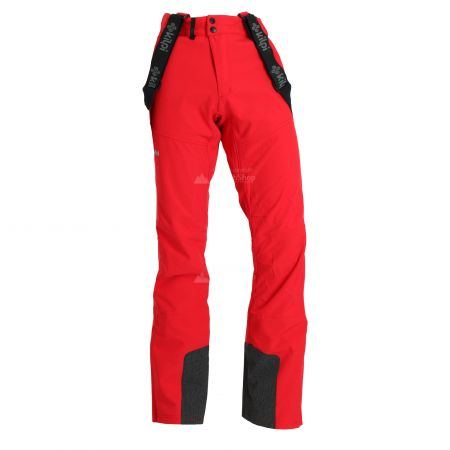 Kilpi, Rhea, softshell skibroek, heren, rood