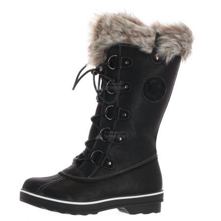 Kimberfeel, Beverly, snowboots, dames, zwart