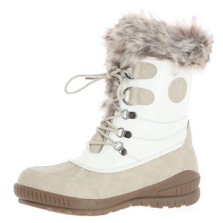 Kimberfeel, Delmos, snowboots, dames, wit