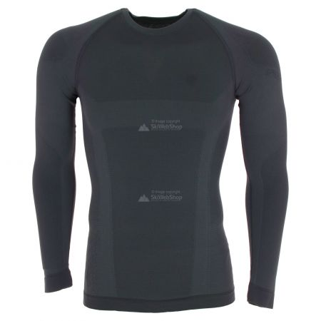 Spyder, Momentum baselayer top, thermoshirt, heren, zwart