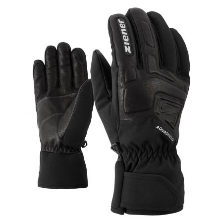 Ziener, Glyxus AS handschoenen unisex Zwart