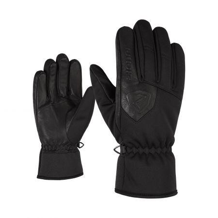 Ziener, Irdu PR, skihandschoenen, zwart
