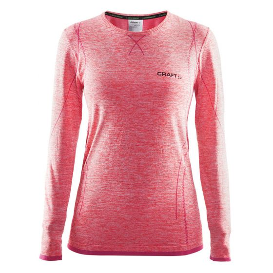 Craft Be Active Comfort RN LS W, Thermo Shirt Dames, Crush - Roze