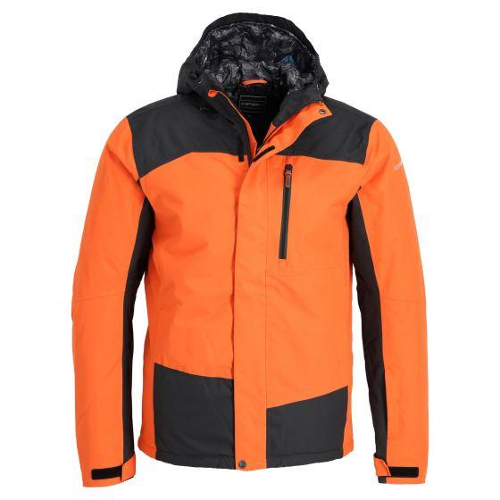 Icepeak, Capot ski-jas heren dark oranje