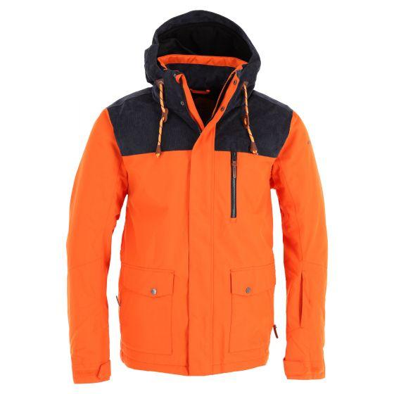 Icepeak, Charlton ski-jas heren dark oranje