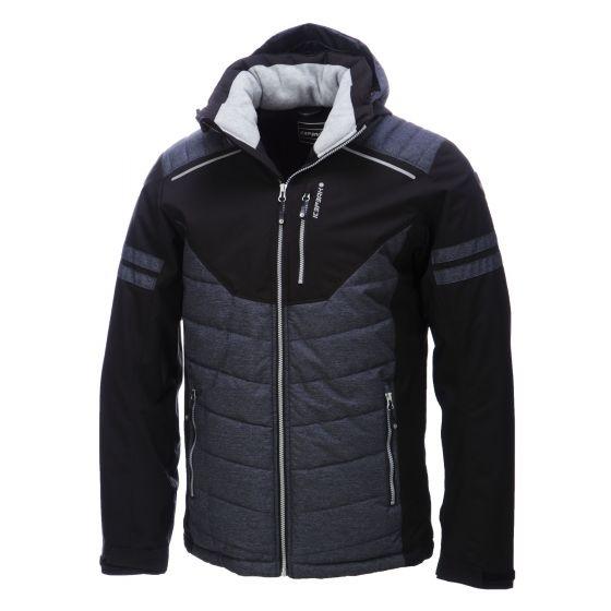 Icepeak, Neville, ski-jas, heren, zwart